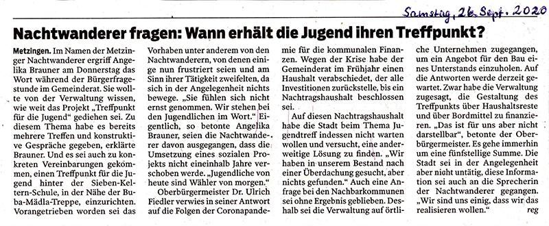 Presse Bürgerfragestunde 24.09.2020